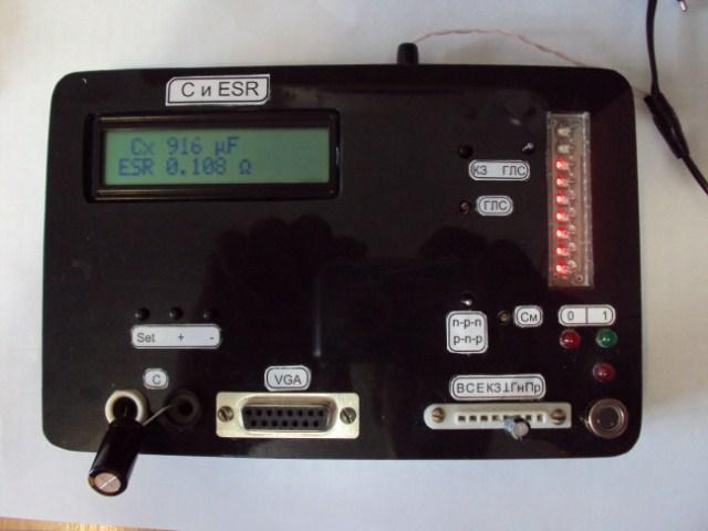 Измеритель C и ESR